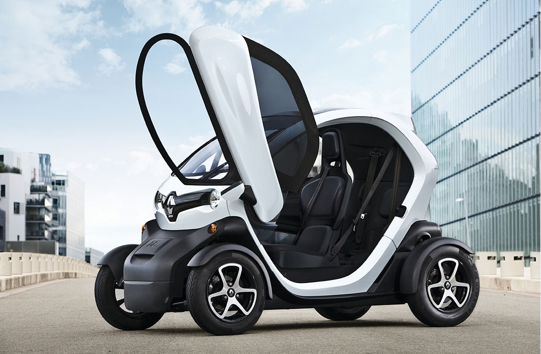 TWIZY – elbil for den urbane! | Renault Norge