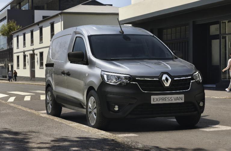Nå har vi lanseringskampanje på nye Renault Express 95 hk!